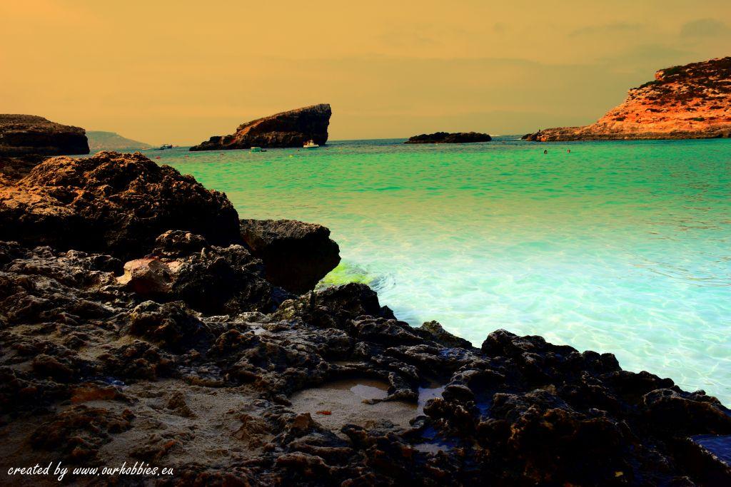 sea blue laggon